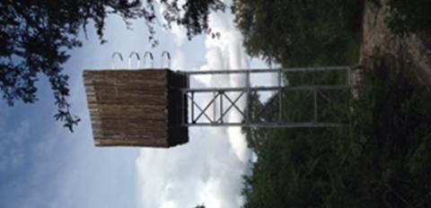 Solar power water tank