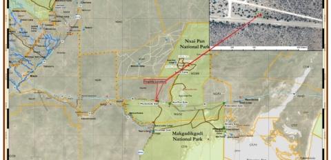 Plot location on google map