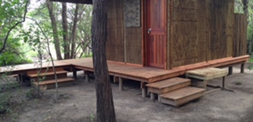 Wooden framed ablution