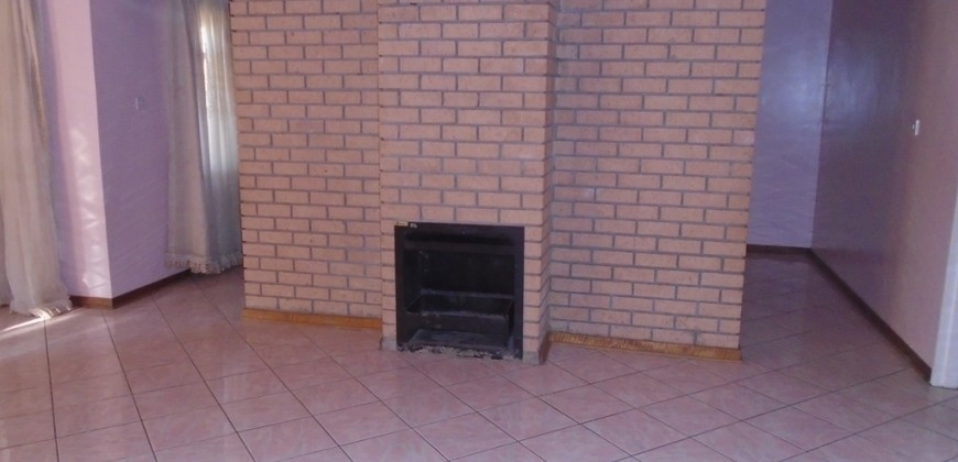 Fire place area
