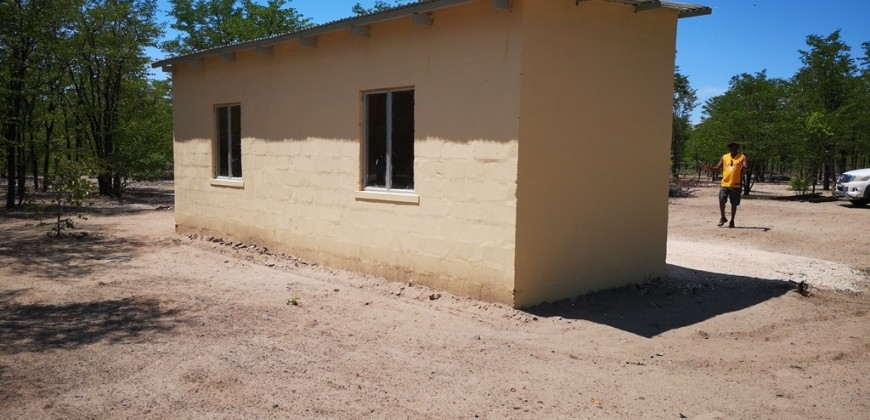 Rear view/farm house