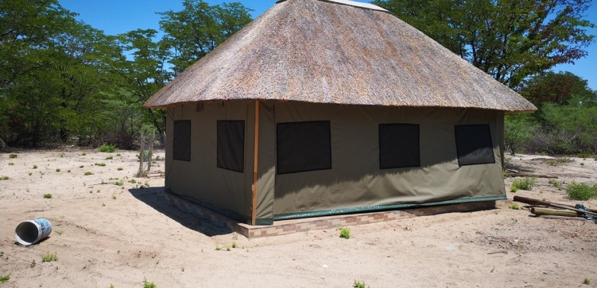 Thatched accommodation