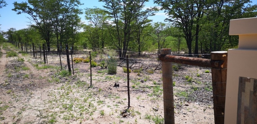 Farm perimeter fencing