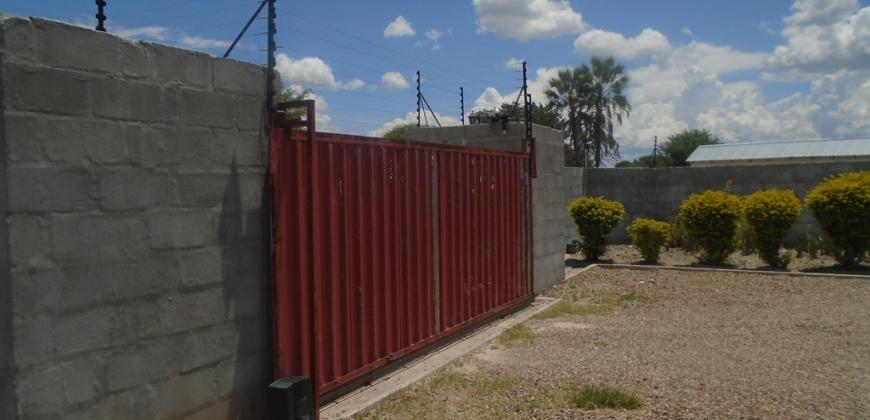 Motorised gate/electric fence