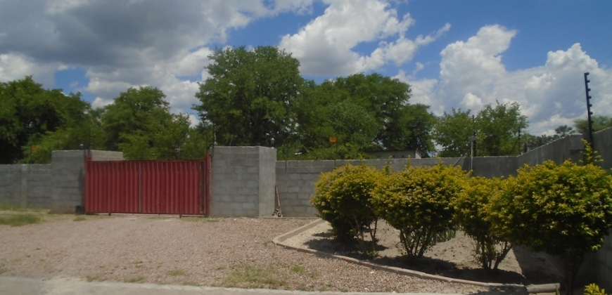 Property enclosed in a boudary wall