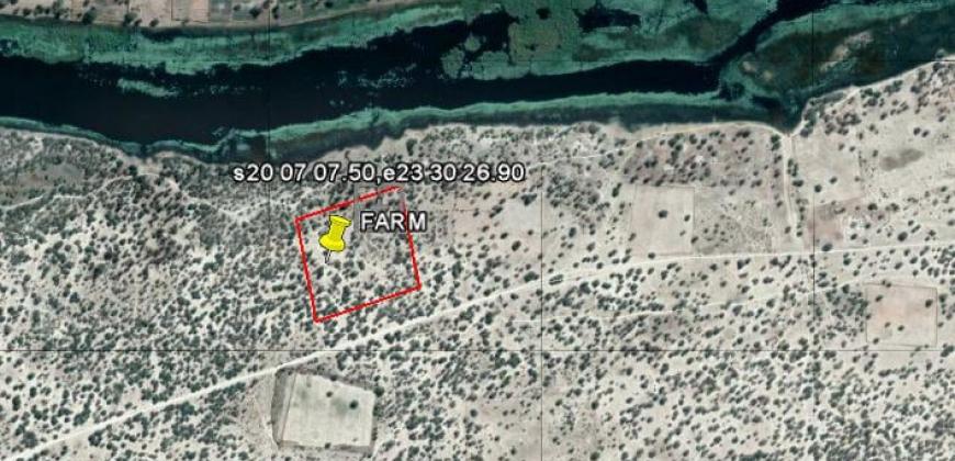 Location of farm on google