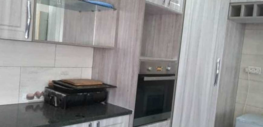 New modern fitted kitchen/fitted stove/microwave
