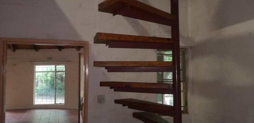Stair case/bedroom