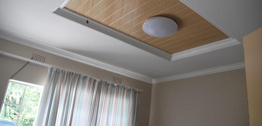 Master bedroom with a sliding door