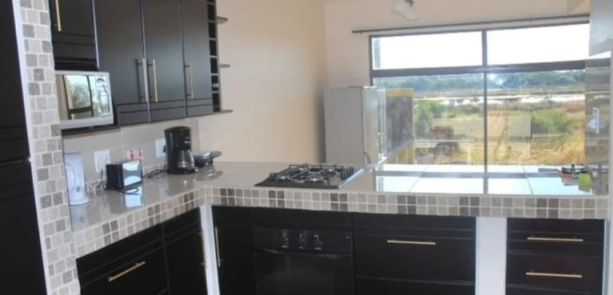 Open plan morden fitted kitchen